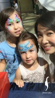 Mama shared they love face painting so much!