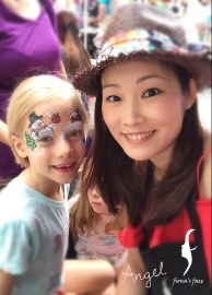 face painting by HK artist Angel