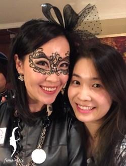 Chic face for Wen attending annual dinner