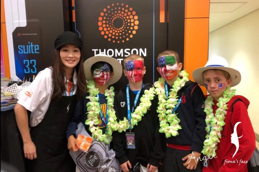 Face Painting in Hong Kong Sevens 2018
