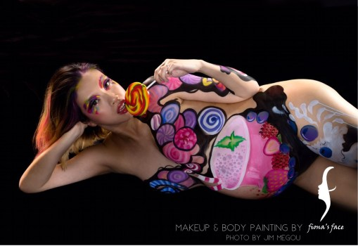 Idea & Artist: Fiona; Model: Lolly; Photo by Jim Megou