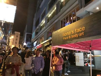 festival face painting HK