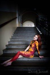 Idea, Artist: Fiona; Model: Bianca; Photos credit to Daniel Janesch Photography