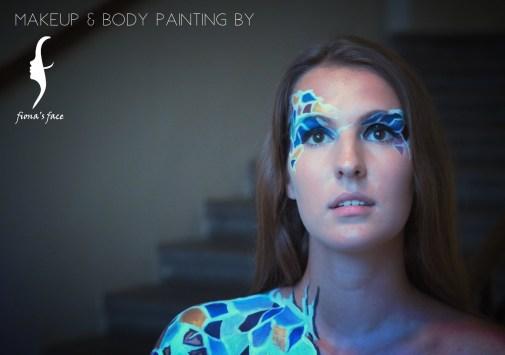 Idea, Artist & Photo by Fiona; Model: Corinna