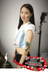 HK Airbrush face & body art by fiona's face