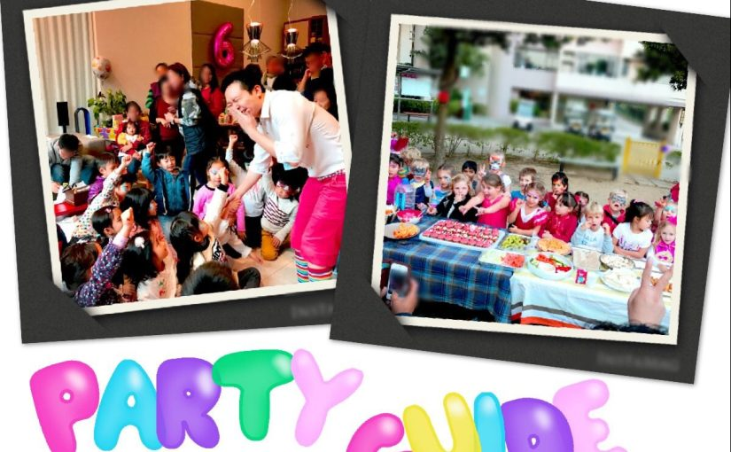 Party Guide in HK – how to plan an impressive kids party?
