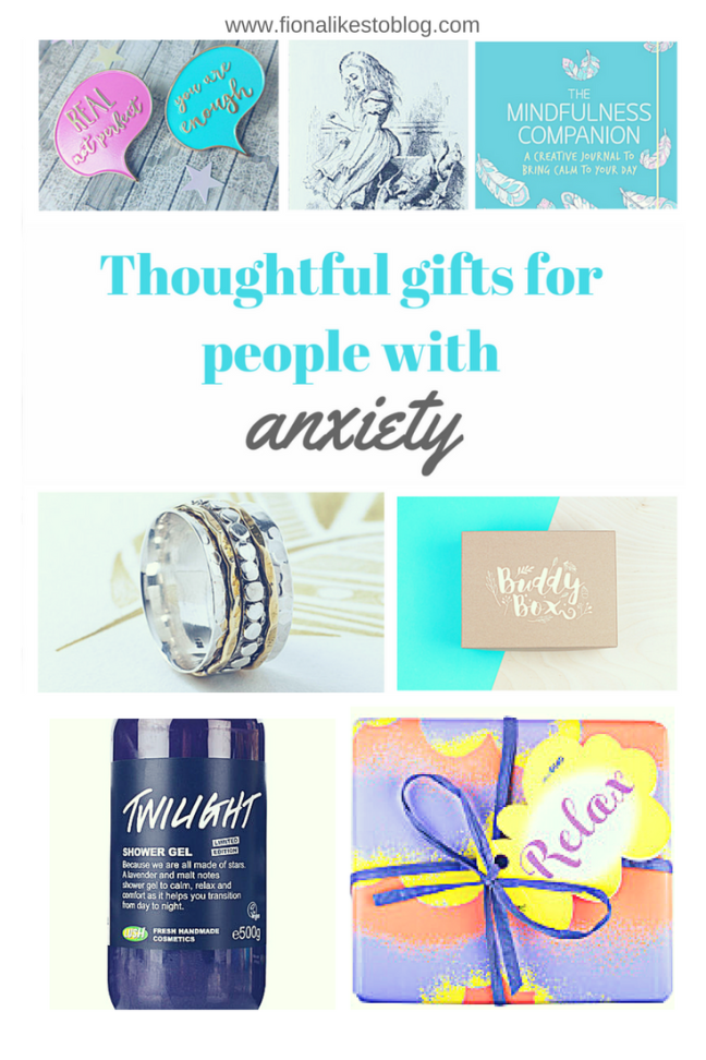 what to buy someone with anxiety christmas present