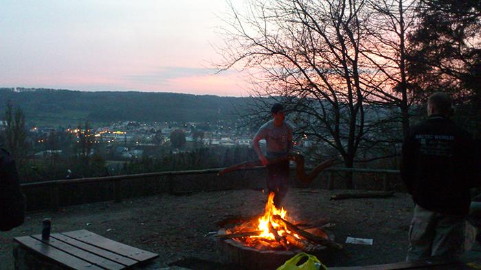 Waffeldange Spring Bonfire