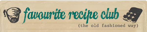 Favourite Recipe Club Logo