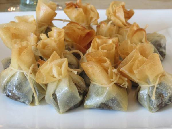Scottish Lunch / Haggis Filo Packages - Fiona Lynne
