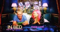 Touch ups by me on Pixie Lott for In bed with Jamie Laing