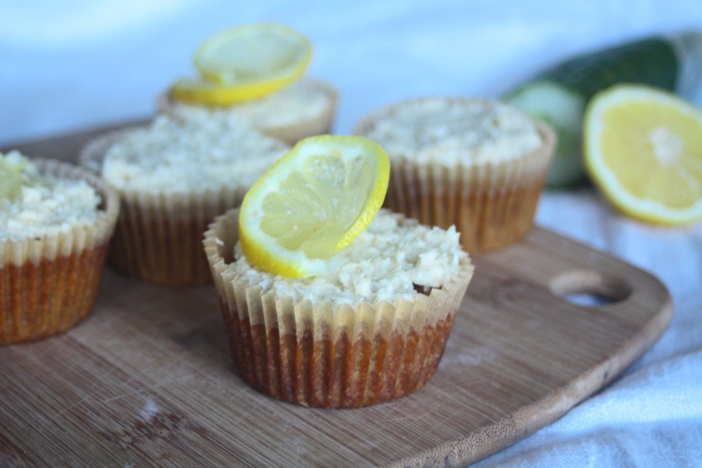 Coconut Cucumber Muffin