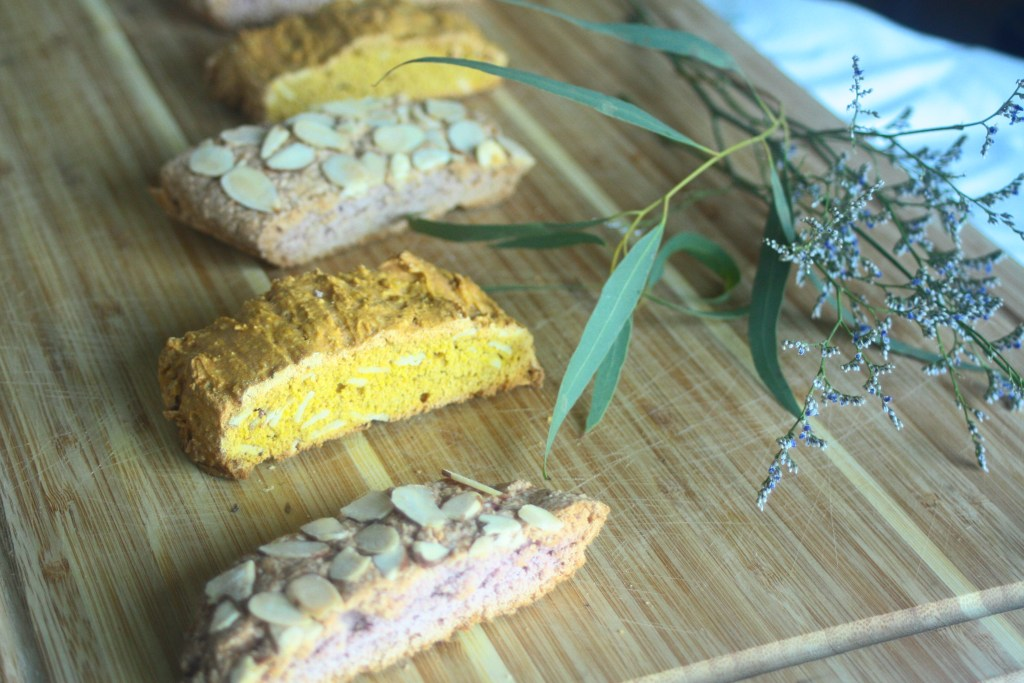 Pumpkin Sweet Potato Biscotti