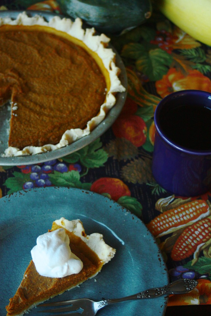Pumpkin Pie (Dairy and Gluten Free)