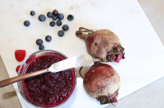 Beet Berry Chia Jam