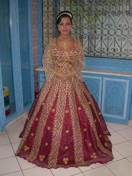 Robe mariage tunisien