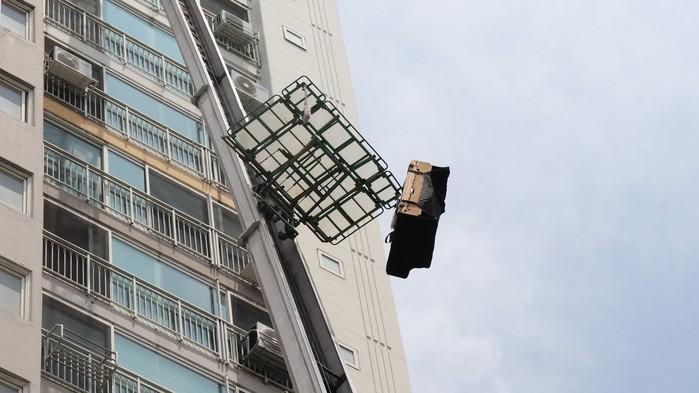 韓國搬家雲梯車