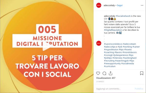 instagram instagram social recruiting