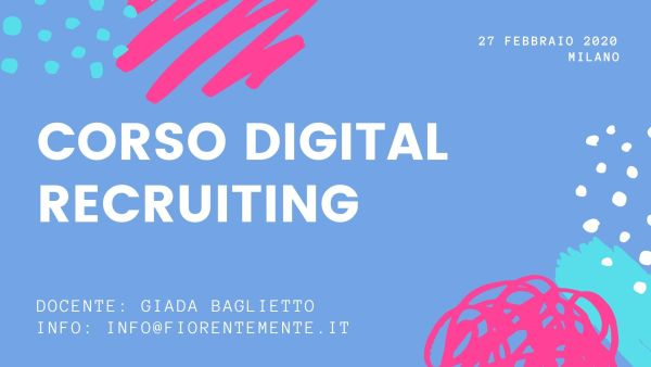 CORSO DIGITAL RECRUITING