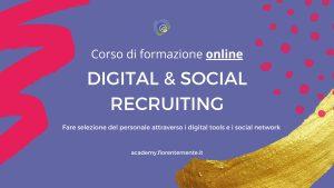 Corso di formazione online Digital & Social Recruiting