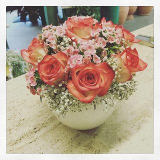 Bouquet Di Fiori Misti Per Compleanno Con Girasoli Rose