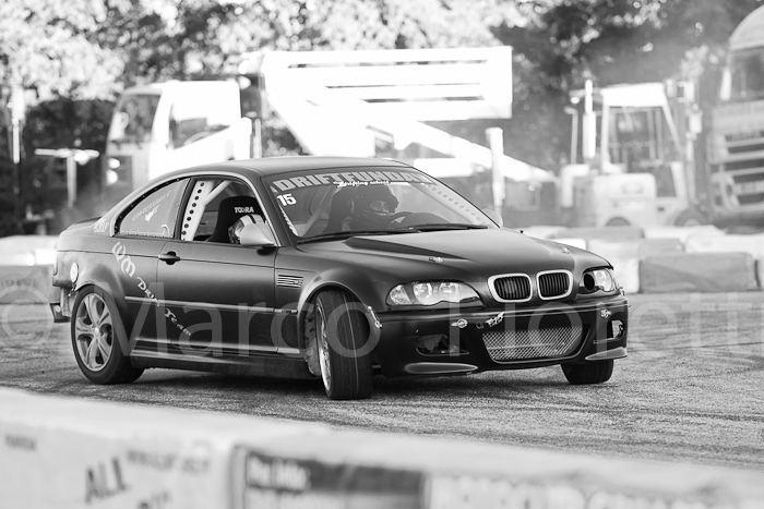 BMW M3 in derapata