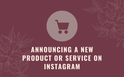 Announcing a Product or Service on Instagram
