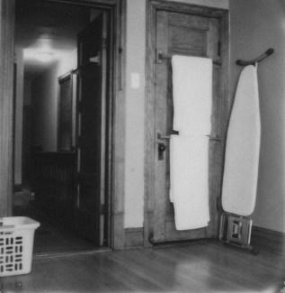 Impossible film B&W, Polaroid SX-70.