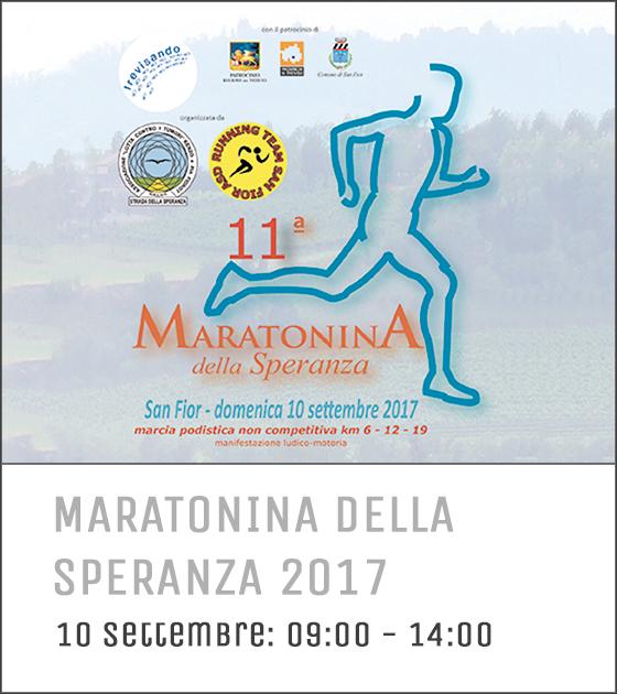 maratonina della speranza 2017
