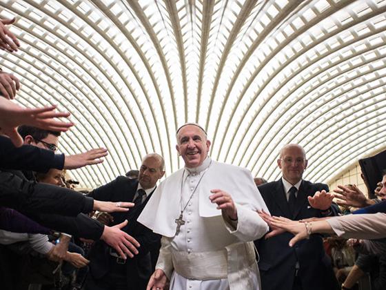 papa francesco riceve in udienzaipellegriniass.fiorot