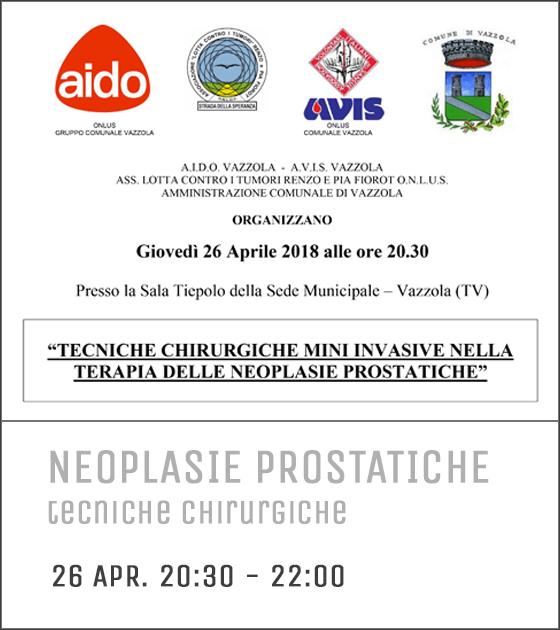 manifesto neoplasie prostaatiche tecnice mini invasive