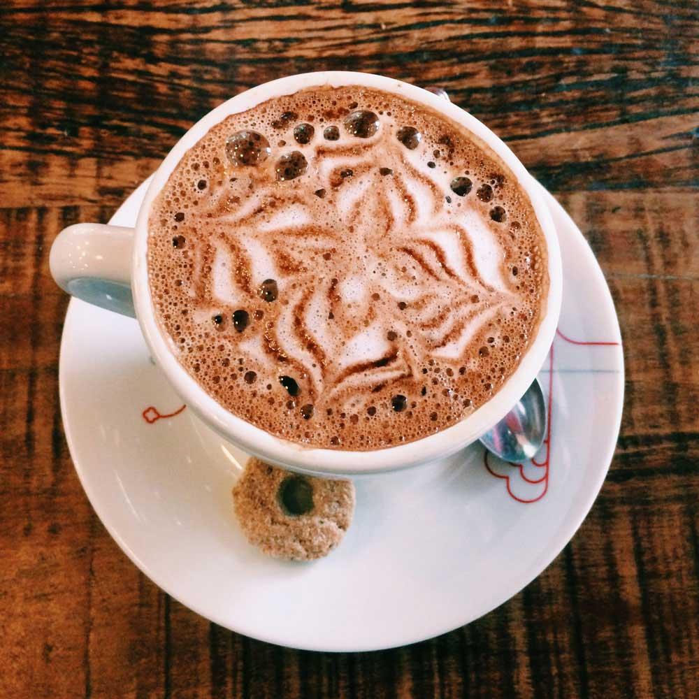 Spiral com café