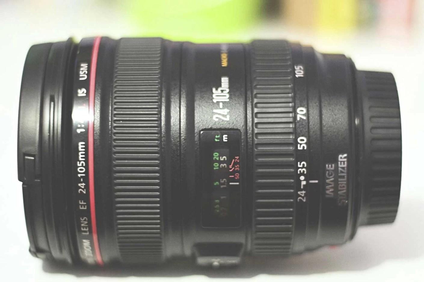 Corpo da Canon EF 24-105mm