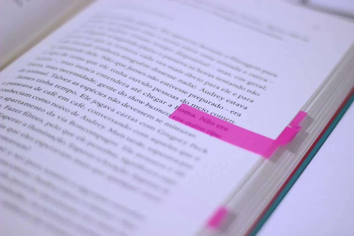 Trechos do livro 5 avenida