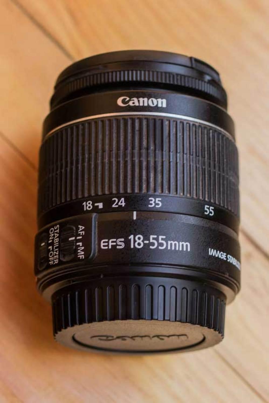 Estrutura da lente