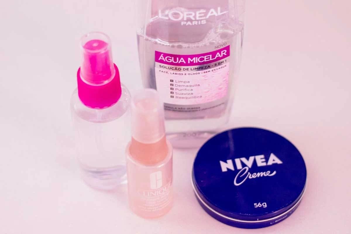 Produtos para cuidar da pele do rosto