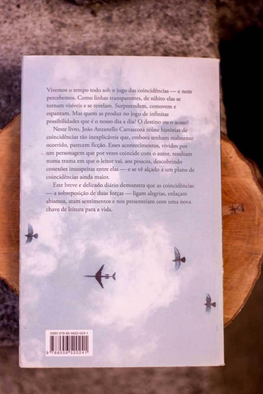 Segunda capa de Diário das Coincidências