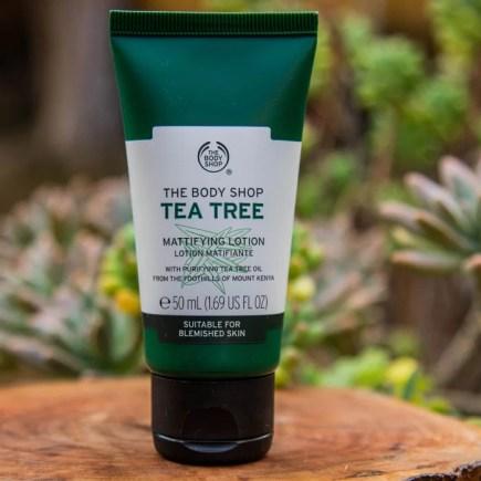 Loção Hidratante Facial Tea Tree The Body Shop