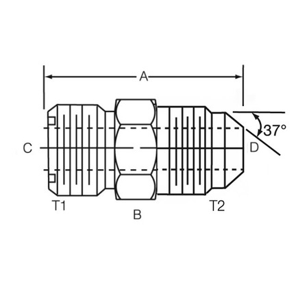 Power Steering Adapter Fittings Power Steering Pulley