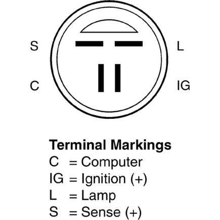 Gm Voltage Regulator Wiring GM Battery Wiring Wiring