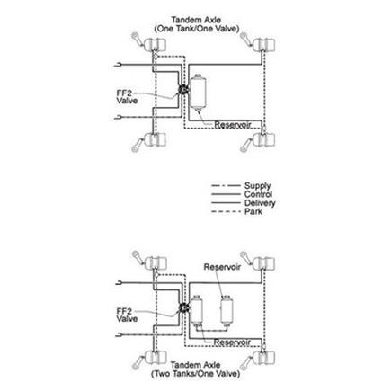 Haldex Air Suspension Dump Valve, Haldex, Free Engine