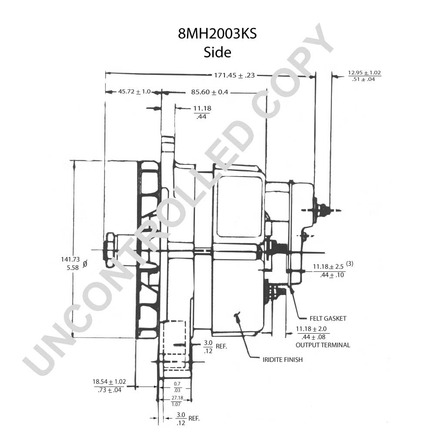 Denso Alternator Rectifier Driveworks Alternator Wiring