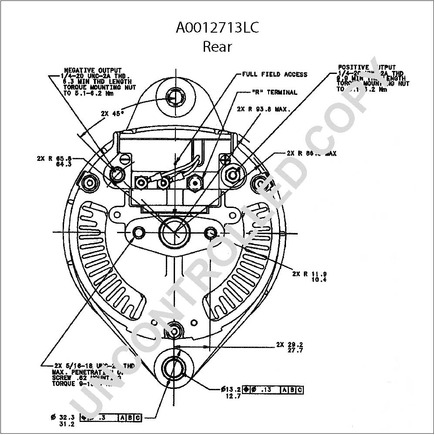 Ford 6610 Tractor Alternator Wiring Diagram Balmar