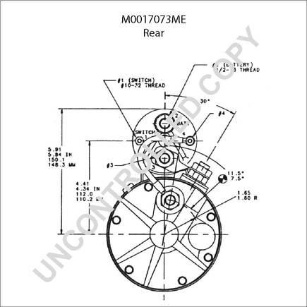 3 Terminal Solenoid Relay Switch Solenoid Starter Wiring