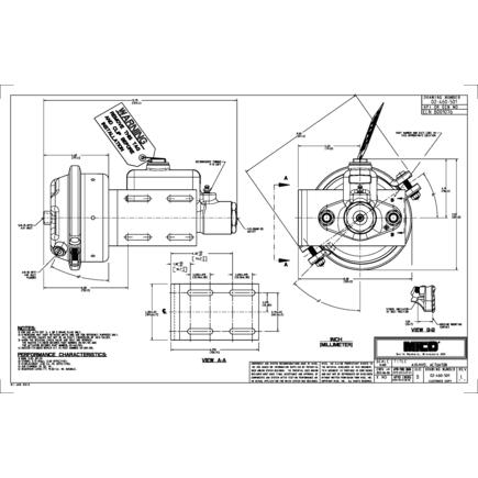 Power Steering Control Valve Actuator 12 Volt Mini