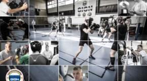 Séminaire d'entraînement en boxe anglaise au GIGN