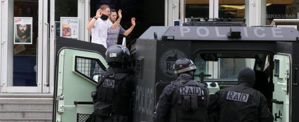 Au Kinepolis, ils ont fait comme s'il y avait eu une attaque terroriste