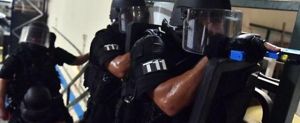 Le RAID interpelle un homme armé en plein délire schizophrène à Toulouse