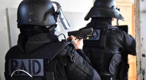 Le RAID est intervenu sur une affaire d'extorsion de fonds avec arme