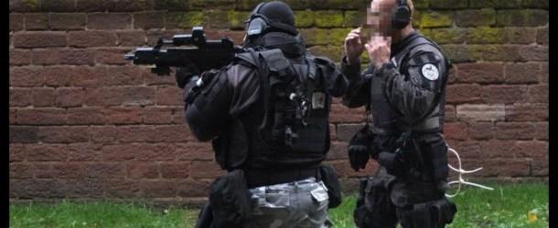 Strasbourg : un forcené retranché chez lui interpellé par la police